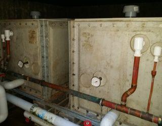 Potable water tank